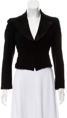Christian Lacroix Bazar de Structured Peak-Lapel Blazer