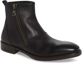 John Varvatos Mid Angled Zip Boot