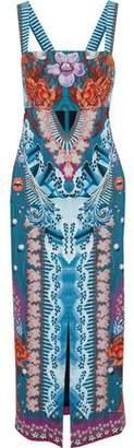 Temperley London Printed Cady Midi Dress