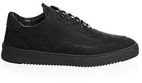 Filling Pieces Men's Low Mondo Leather Low-Top Sneakers