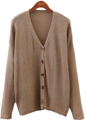 Goodnight Macaroon 'Miriam' Lightweight Button-Up V-Neck Cardigan (3 Colors)
