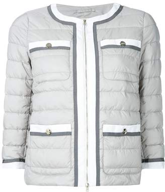 Herno padded fitted jacket