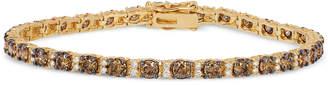 LeVian Le Vian Chocolatier Diamond Tennis Bracelet (5-3/8 ct. t.w.) in 14k Gold