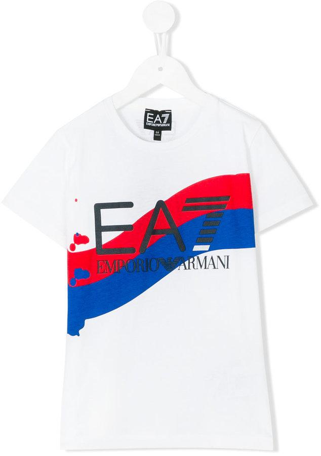 Armani JuniorArmani Junior logo print T-shirt