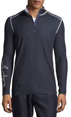 Stefano Ricci Men's Quarter-Zip Ski Shirt