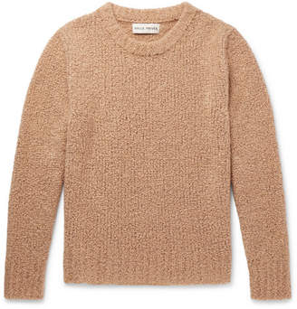 Privee SALLE Aren Cashmere And Silk-Blend Bouclé Sweater