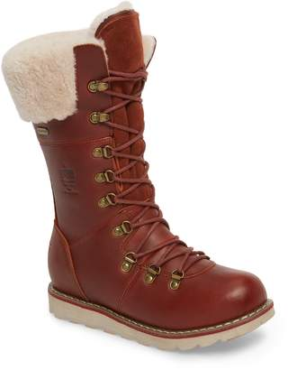 Royal Canadian Louise Waterproof Snow Boot with Genuine Shearling Cuff