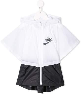 Nike branded rain jacket