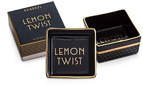 Cheers Lemon Twist Porcelain Dish