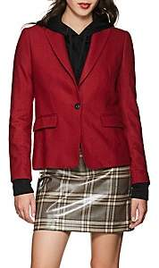Rag & Bone Women's Lexington Wool-Blend One-Button Blazer - Red
