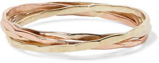 14-karat Gold Interlocking Ring