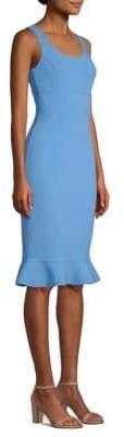 Michael Kors Ruffle-Hem Sheath Dress