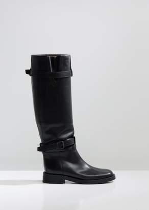 Ann Demeulemeester Knee High Riding Boots