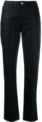 Alyx logo print jeans