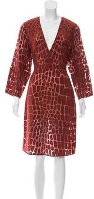 Stella McCartney Embroidered Midi Dress w/ Tags
