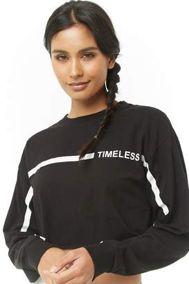 Forever 21 Active Timeless Graphic Cropped Tee