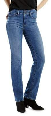 Levi's Slimming Straight Jeans