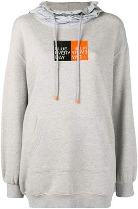 Sjyp Blue Every Day hoodie
