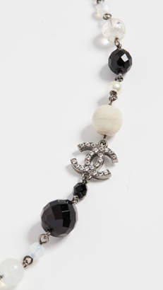 Chanel What Goes Around Comes Around Multi Imitation Pearl Necklace