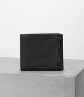 AllSaints Havoc Leather Wallet