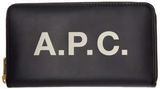 A.P.C. Black Morgane Continental Wallet