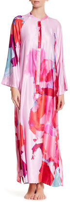 Natori Abstract Printed Caftan $180 thestylecure.com