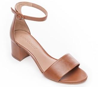 a4c8037ed8aa0 Bernardo Brown Leather Women s Sandals - ShopStyle