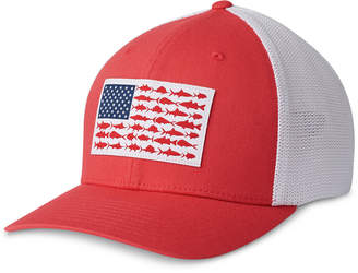 1bb9926a04a Columbia Men Pfg Mesh Fish Flag Ball Cap