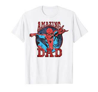 Marvel Spider-Man Father's Day Amazing Dad Graphic T-Shirt