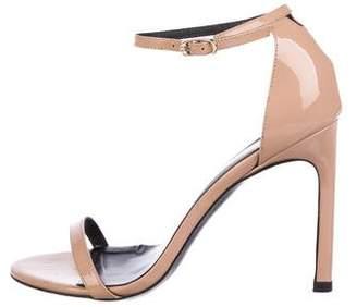 Stuart Weitzman Patent Leather High-Heel Sandals