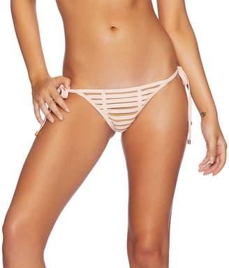 Beach Bunny Blush Hard Summer Skimpy Tie Side Bottom, M