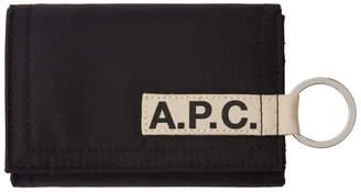 A.P.C. Black Pozzo Wallet