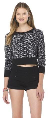 Mossimo Cropped Sweatshirt