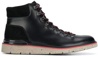 Hogan ankle lace-up boots
