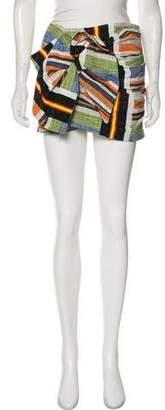 No.21 No. 21 Striped Mini Skirt w/ Tags