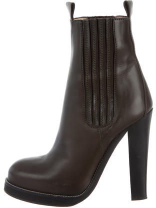 Balenciaga  Balenciaga Leather Ankle Boots