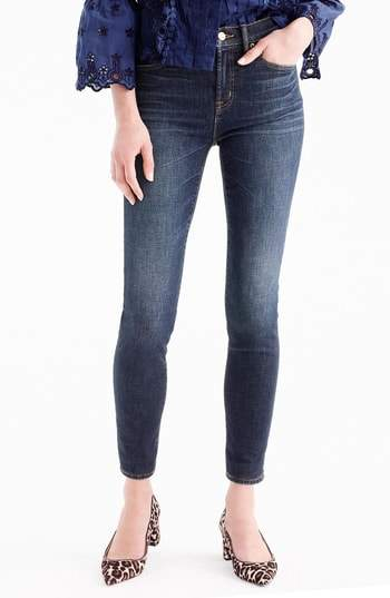 J. CREW High Rise Toothpick Jeans