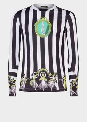 Versace Amore e Psiche Long Sleeve Football Jersey