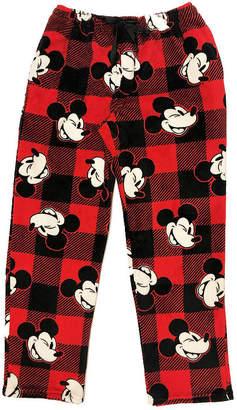 Disney Holiday Sleep Pants Mickey Mouse Plush Pajama Pants