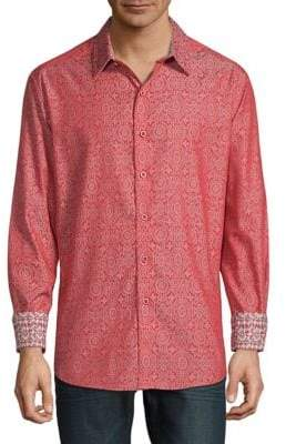 Robert Graham Danvers Print Long Sleeve Shirt