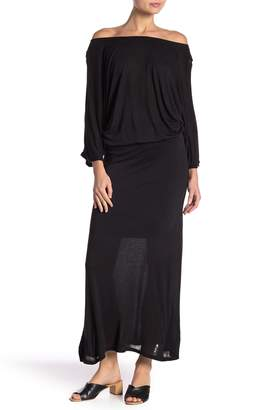 Couture Go Dolman Sleeve Sweater Maxi Dress