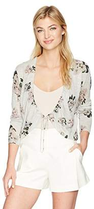 Lucky Brand Women's Pull Tie Cardigan Sweater