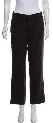 Emporio Armani Mid-Rise Straight-Leg Pants Mid-Rise Straight-Leg Pants