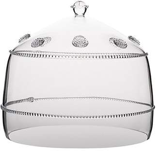 Juliska Isabella Large Crystal Cake Dome