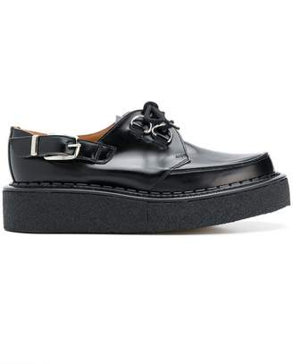 Comme des Garcons creepers lace-up shoes
