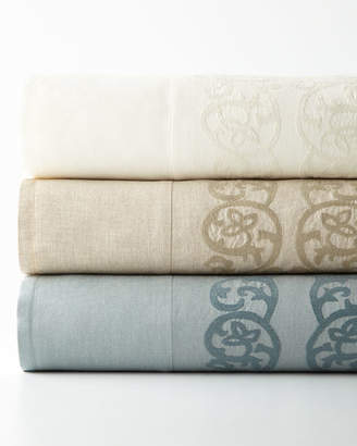 Pom Pom at Home Queen Allegra Duvet Cover with Embroidered Insets