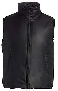 Saks Fifth Avenue BY ESEMPLARE Eco Faux Fur-Lined Zip Vest