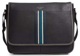 Ted Baker Kingcol Faux Leather Messenger Bag