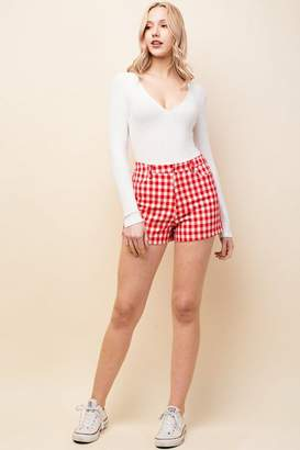 Honey Punch **Printed Shorts
