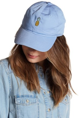 Body Rags Pineapple Baseball Hat $34.97 thestylecure.com